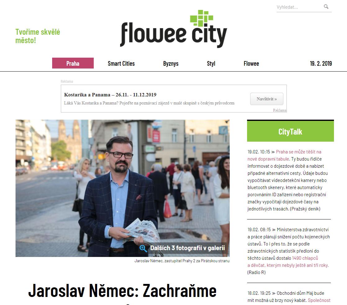 Jaroslav Němec: Zachraňme Transgas, dům pro dva gigantické počítače / flowee.cz, 18. 2. 2019